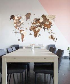 3D Mapy světa