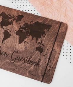 Cestovatelský deník ze dřeva - i jako fotoalbum