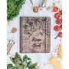 Dřěvěná kuchařka - motiv zelenina