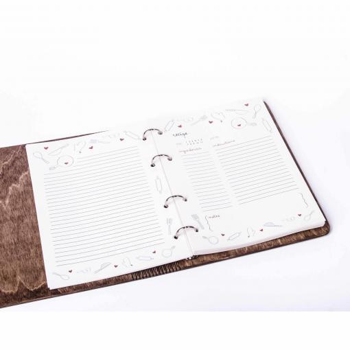 Extra papíry pro dřevěné deníky