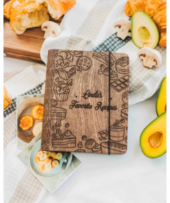 Personalizovaná dřevěná kuchařka vhodná jako dárek nebo doplněk kuchyně