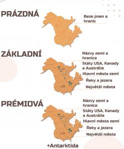 Typy 2D mapy z korku